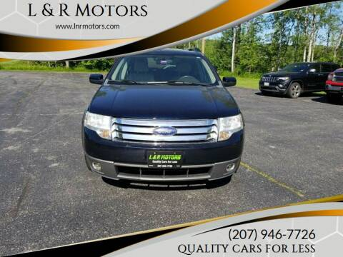 2008 Ford Taurus X for sale at L & R Motors in Greene ME