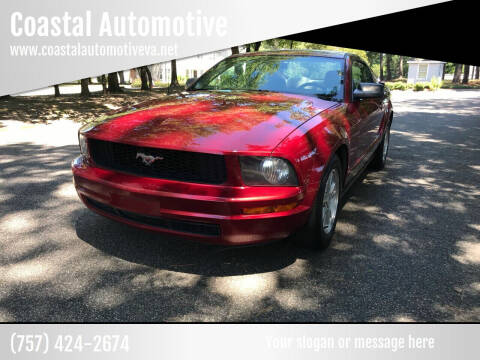 2007 Ford Mustang for sale at Coastal Automotive in Virginia Beach VA