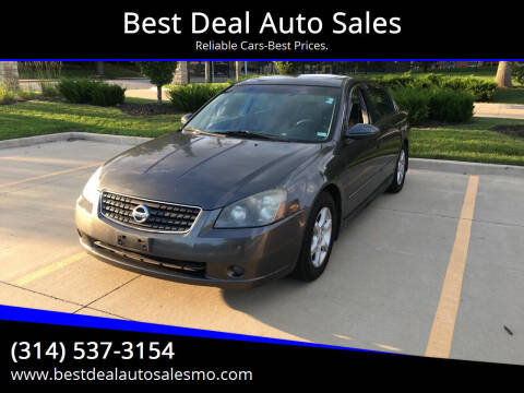 2005 Nissan Altima for sale at Best Deal Auto Sales in Saint Charles MO
