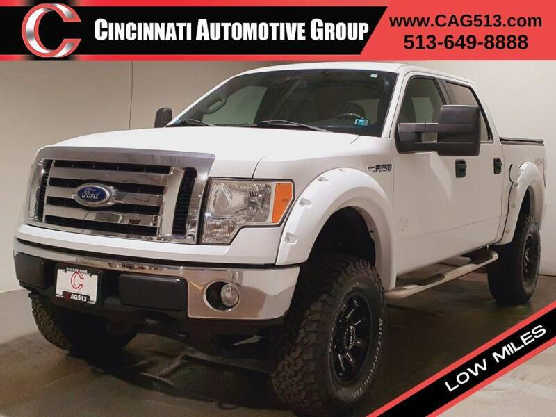 2011 Ford F-150 for sale at Cincinnati Automotive Group in Lebanon OH