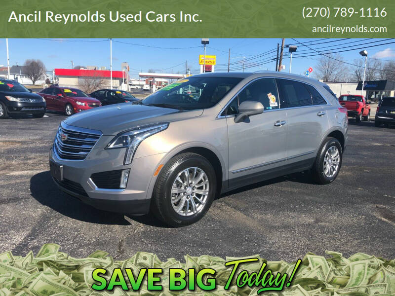 2017 Cadillac XT5 for sale at Ancil Reynolds Used Cars Inc. in Campbellsville KY