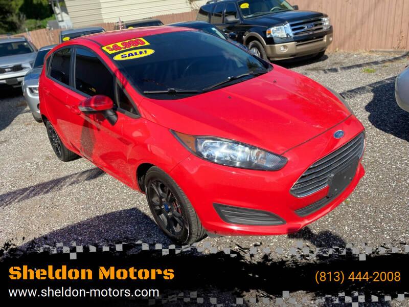 2015 Ford Fiesta for sale at Sheldon Motors in Tampa FL