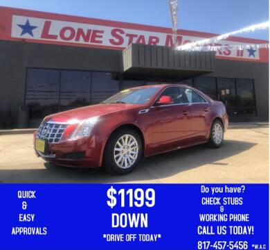 2013 Cadillac CTS for sale at LONE STAR MOTORS II in Fort Worth TX