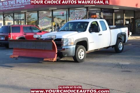 2009 Chevrolet Silverado 2500HD for sale at Your Choice Autos - Waukegan in Waukegan IL
