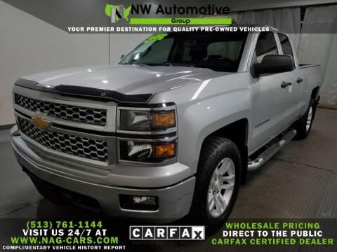 2014 Chevrolet Silverado 1500 for sale at NW Automotive Group in Cincinnati OH