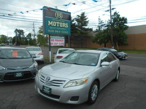 2011 Toyota Camry for sale at Brookside Motors in Union NJ