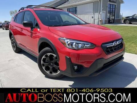 2021 Subaru Crosstrek for sale at Auto Boss in Woodscross UT