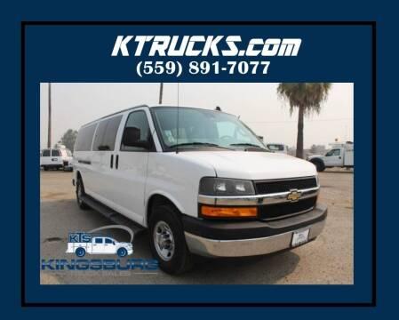2019 Chevrolet Express Passenger for sale at Kingsburg Truck Center - Vans in Kingsburg CA