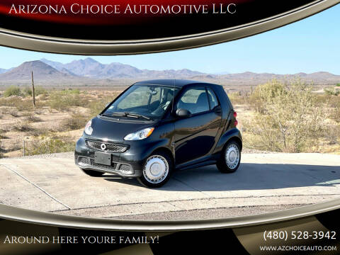 2013 Smart fortwo for sale at Arizona Choice Automotive LLC in Mesa AZ