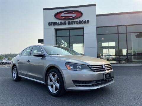 2013 Volkswagen Passat for sale at Sterling Motorcar in Ephrata PA