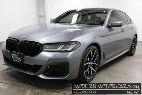 2021 BMW 5 Series for sale at Modern Motorcars in Nixa MO