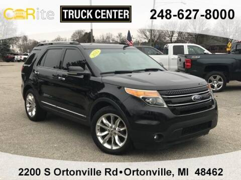2011 Ford Explorer for sale at Carite Truck Center in Ortonville MI