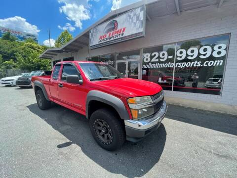 2005 Chevrolet Colorado for sale at NO LIMIT MOTORSPORTS in Belmont NC