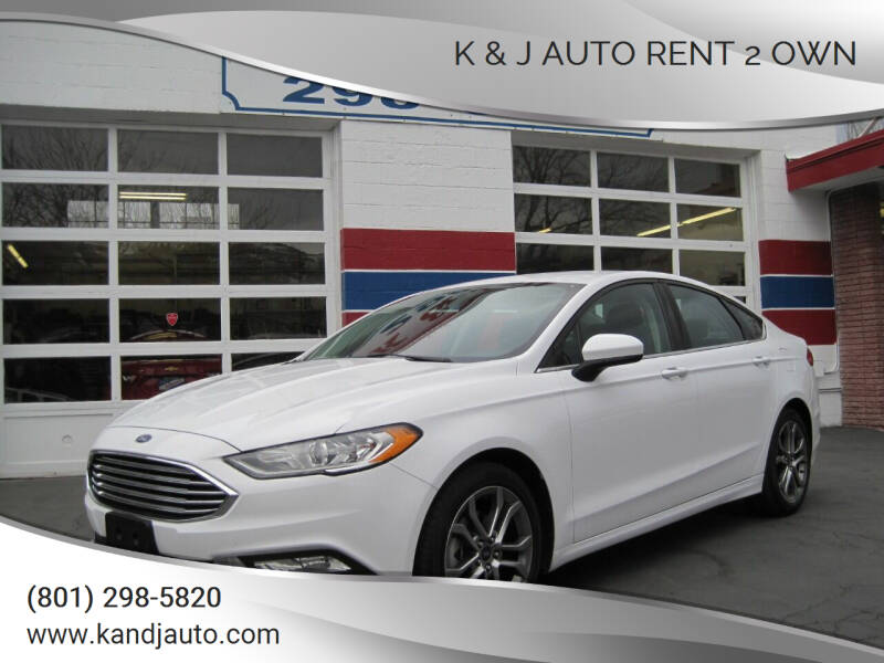 2017 Ford Fusion for sale at K & J Auto Rent 2 Own in Bountiful UT