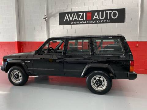 1995 Jeep Cherokee for sale at AVAZI AUTO GROUP LLC in Gaithersburg MD