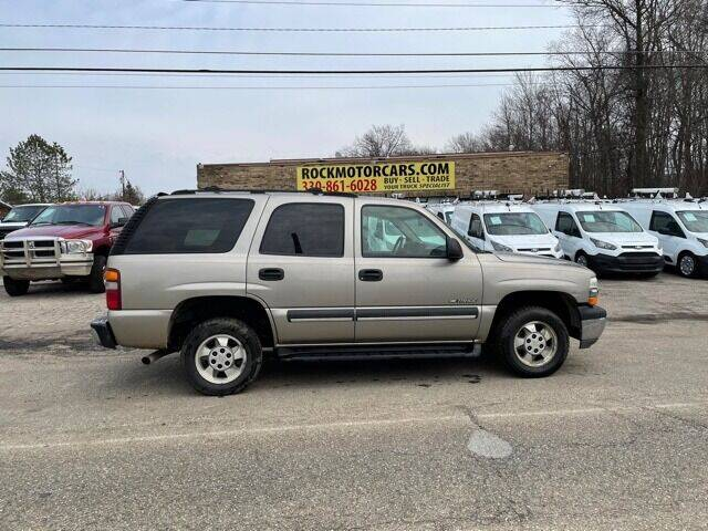 2003 Chevrolet Tahoe for sale at ROCK MOTORCARS LLC in Boston Heights OH