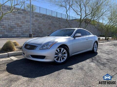 2009 Infiniti G37 Coupe for sale at AUTO HOUSE TEMPE in Tempe AZ