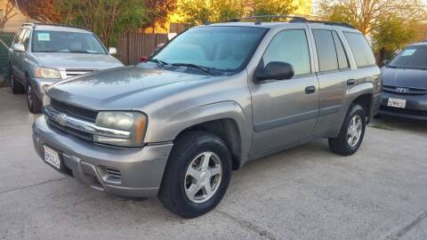 2005 Chevrolet TrailBlazer for sale at Carspot Auto Sales in Sacramento CA