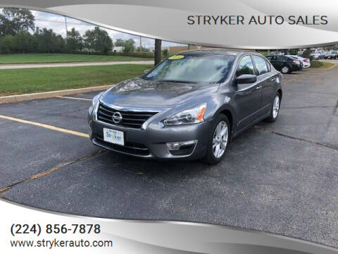 2014 Nissan Altima for sale at Stryker Auto Sales in South Elgin IL