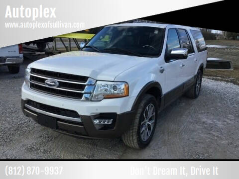 2015 Ford Expedition EL for sale at Autoplex in Sullivan IN