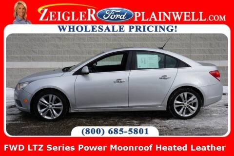 2011 Chevrolet Cruze for sale at Zeigler Ford of Plainwell- Jeff Bishop in Plainwell MI