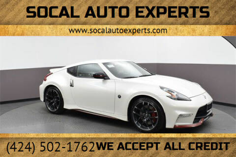 2020 Nissan 370Z for sale at SoCal Auto Experts in Culver City CA