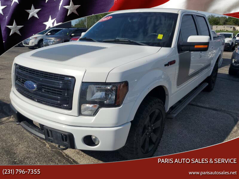 2013 Ford F-150 for sale at Paris Auto Sales & Service in Big Rapids MI