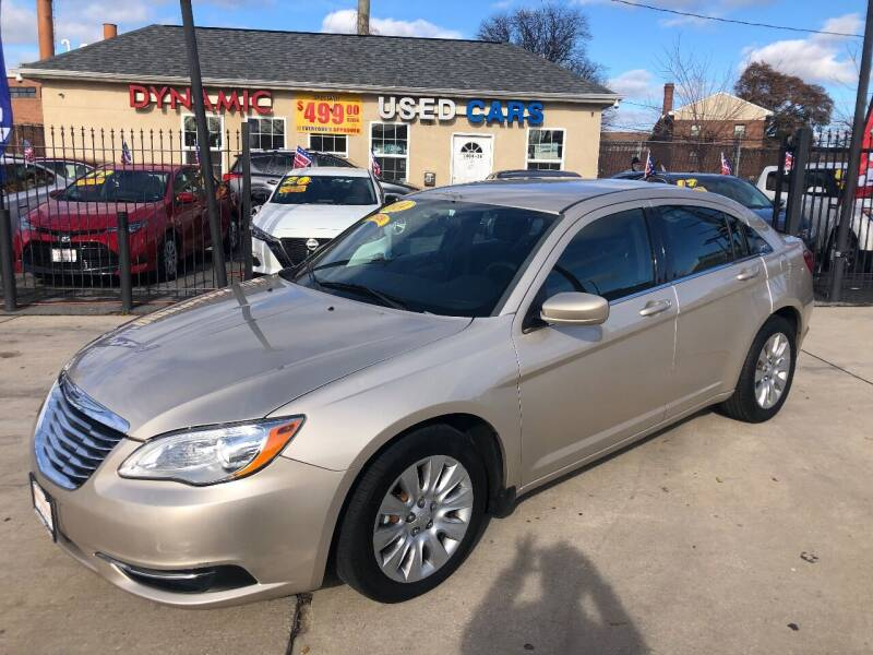 2014 Chrysler 200 for sale at DYNAMIC CARS in Baltimore MD