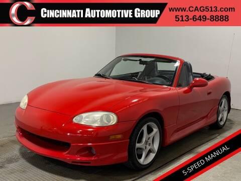 2003 Mazda MX-5 Miata for sale at Cincinnati Automotive Group in Lebanon OH