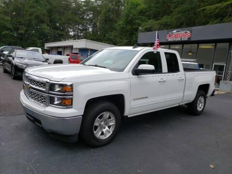 2015 Chevrolet Silverado 1500 for sale at Curtis Lewis Motor Co in Rockmart GA