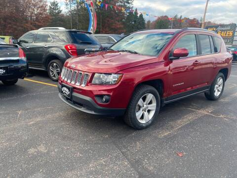 2017 Jeep Compass for sale at Affordable Auto Sales in Webster WI