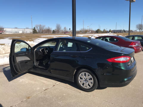 2014 Ford Fusion for sale at Lannys Autos in Winterset IA