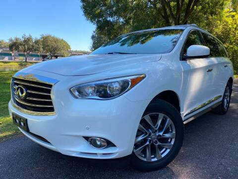 2013 Infiniti JX35 for sale at Powerhouse Automotive in Tampa FL