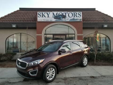 2016 Kia Sorento for sale at Sky Motors in Kansas City MO