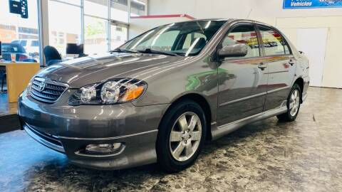 2005 Toyota Corolla for sale at TOP YIN MOTORS in Mount Prospect IL