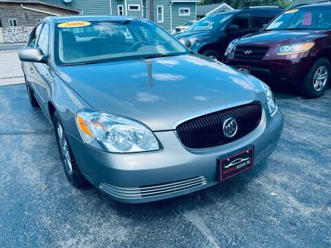 2006 Buick Lucerne for sale at SHEFFIELD MOTORS INC in Kenosha WI