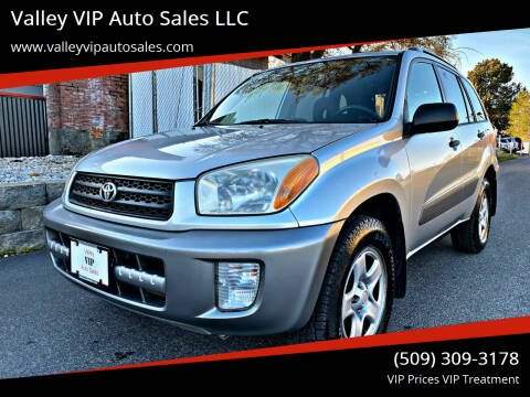 2002 Toyota RAV4 for sale at Valley VIP Auto Sales LLC in Spokane Valley WA