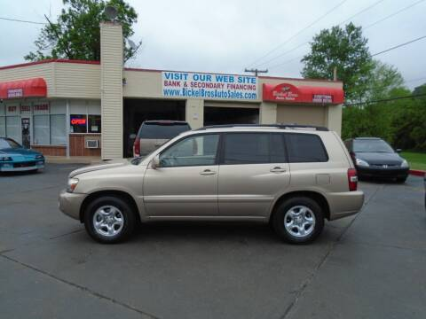 2004 Toyota Highlander for sale at Bickel Bros Auto Sales, Inc in Louisville KY