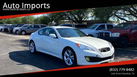 2012 Hyundai Genesis Coupe for sale at Auto Imports in Houston TX