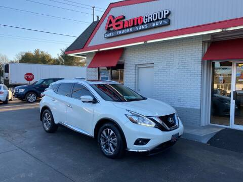 2015 Nissan Murano for sale at AG AUTOGROUP in Vineland NJ