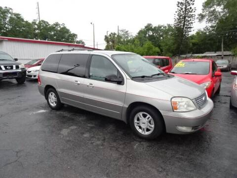 2005 Ford Freestar for sale at DONNY MILLS AUTO SALES in Largo FL