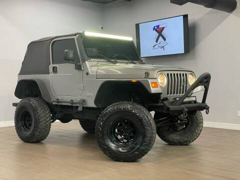 2000 Jeep Wrangler for sale at TX Auto Group in Houston TX