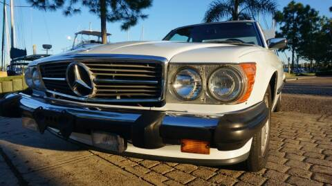 1986 Mercedes-Benz 560-Class for sale at Cars-yachtsusa.com in League City TX