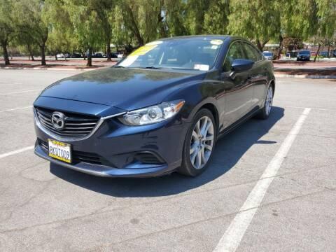 2015 Mazda MAZDA6 for sale at ALL CREDIT AUTO SALES in San Jose CA