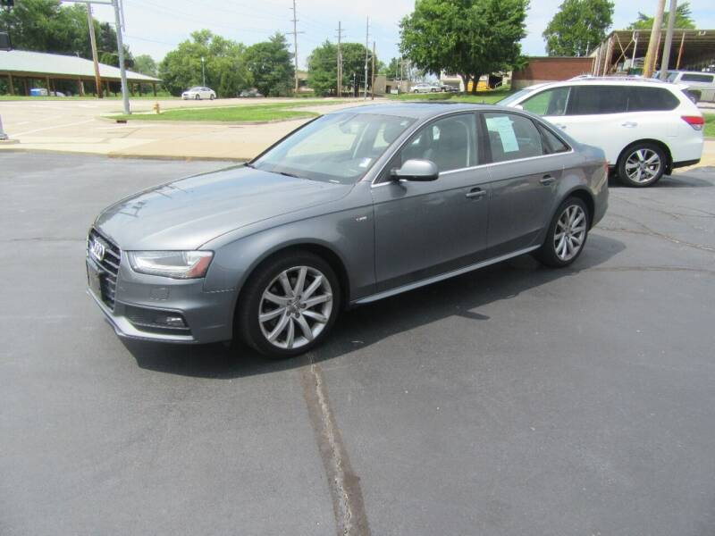 2014 Audi A4 for sale at Riverside Motor Company in Fenton MO