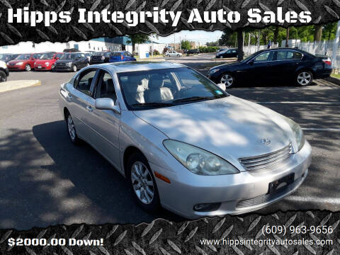 2002 Lexus ES 300 for sale at Hipps Integrity Auto Sales in Delran NJ