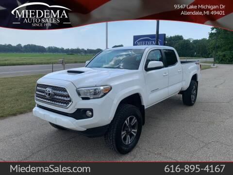 2017 Toyota Tacoma for sale at Miedema Auto Sales in Allendale MI