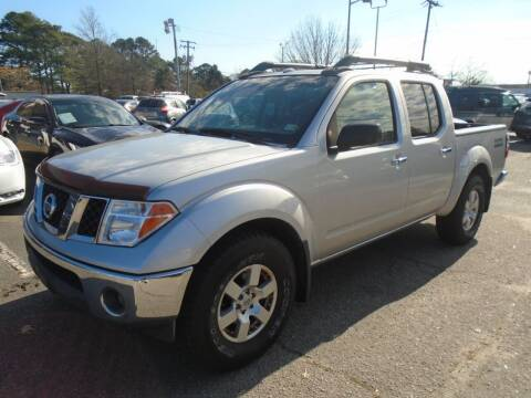 2008 Nissan Frontier for sale at Premium Auto Brokers in Virginia Beach VA