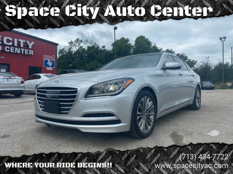 2015 Hyundai Genesis for sale at Space City Auto Center in Houston TX