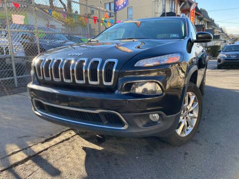 2014 Jeep Cherokee for sale at Best Cars R Us LLC in Irvington NJ